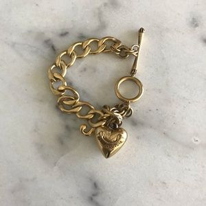 Juicy Couture Gold Charm Bracelet in Original Box